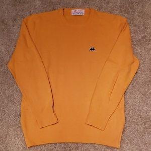 Vtg Mens Kappa Logo Lambswool Sweater S